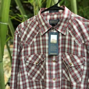 Men's Pendleton NWT button up shirt medium